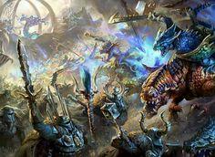 Seraphon vs The Armies Of Tzeentch