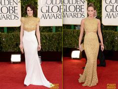 A Teca escolheu seus looks preferidos do Golden Globes.     Agora, no blog!