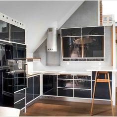 50-luvun keittiö 01 Divider, Interior, Kitchen, Room, Furniture, Home Decor, Bedroom, Cooking, Decoration Home