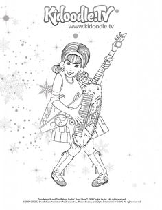 doodlebops printable coloring pages - photo#10
