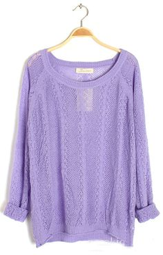 Pretty Purple sweater