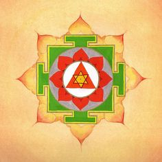 yantra -Ganesha is viewed as the remover of obstacles. Meditate upon this yantra when you perceive roadblocks in your life - spiritual or physical. Ganesh Yantra, Sri Yantra, Shri Ganesh, Durga, Spiritual Symbols, Sacred Symbols, Sacred Art, Indian Gods, Indian Art