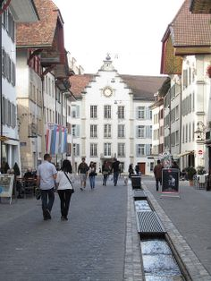 Old City Centre, Aarau, Switzerland