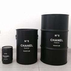 #chanel #barril #barrel #decoração #rebecaguerra #chanelzinhochanelchanelzão: