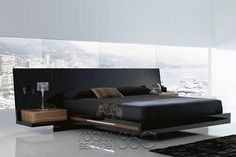 Modern bedroom furniture from top Italian bedroom furniture designers to outfit a contemporary bedroom with style, from modern platform beds and mattresses,. Modern Murphy Beds, Modern Bunk Beds, Modern Loft, Platform Bedroom, Modern Platform Bed, Black Platform Bed, Platform Beds, Modern Bedroom Furniture, Contemporary Bedroom