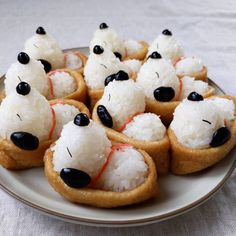 Party Food Buffet, Japanese Sweets, Dessert Recipes, Desserts, Cute Food, Creative Food, Food Presentation, Asian Recipes, Kids Meals