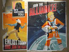 MikeLiveira's Space: STAR WARS Alternative Propaganda