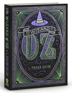 Puffin Chalk Wizard of Oz Book