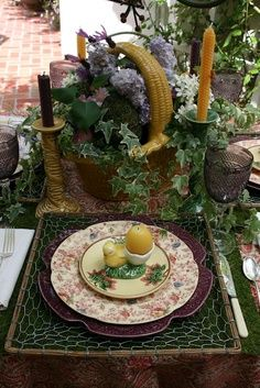vignette design 2011 Tablescapes in Review