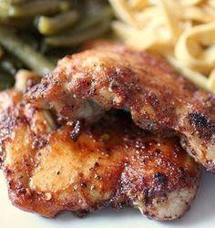 Crockpot Spicy Honey Chicken