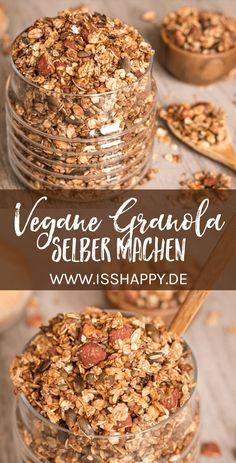 Granola selber machen – super einfaches Rezept für veganes Buchweizen Müsli mit Banane