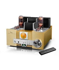 YAQIN MS-650B 845*2 Class A Single Ended Integrated Tube Amplifier with Remote Con