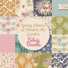 Tilda Spring Diaries & Pardon My Garden