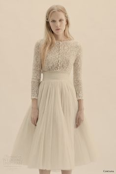 cortana bridal vesta top peonia skirt