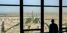 Toller Ausblick auf #Paris vom #Tour #Montparnasse © Gudrun Krinzinger