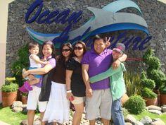 Ocean Adventure, Subic Bay with siblings