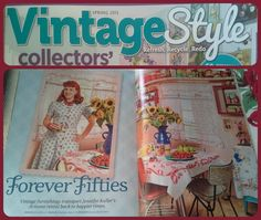 "TVM March 13th-15th- Welcoming for the first time, all the way from Arizona, Jennifer of ""Redhead Sadie Vintage"", she has just recently been published in the Spring issue of Vintage Style magazine!!! we can't wait to meet you!"