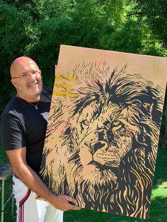 Silhouette Portrait, Silhouette Art, Art Black Love, Canvas Collage, Art Et Illustration, Animal Faces, American Horror Story, Painting Inspiration, Street Art