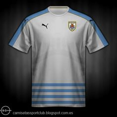 Uruguay away shirt for the 2016 Copa America. 64a934ddb