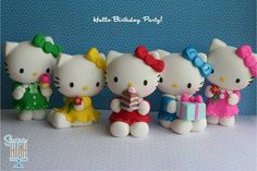 hello kitty en fondant