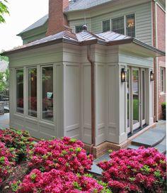 Fabulous Luxury Kitchen/Family Room Renovation & Expansion - Bethesda Maryland - traditional - exterior - dc metro - Edgemoor Custom Builders