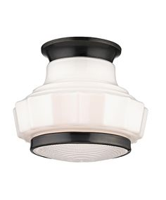 Hudson Valley 3809F Odessa 9 Inch Flush Mount == For second floor landing in Old Bronze. On sale 20%!!