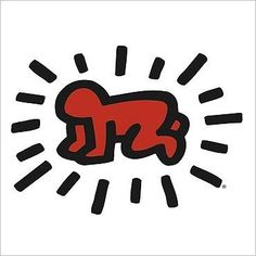 Radiant Baby, 1990 Keith HARING