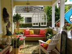 Beautiful Front Porch Decorating – DECORATHING