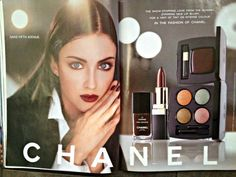 Blast from the Past: Allure Magazine 1998 - Wardrobe Oxygen Chanel Beauty, Beauty Ad, Chanel Makeup, Coco Chanel, 1980s Cosmetics Ads, Red Lipstick Quotes, Vintage Makeup Ads, Vintage Ads, Birthday Quotes For Daughter