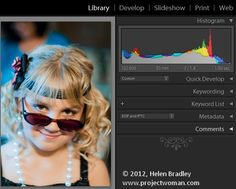 """Step by step Lightroom edits. Love the simple shortcuts like """"x"""" to reject and """"p"""" to flag as """"pick"""""""