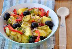 Salată orientală, rețetă simplă de post Fruit Salad, Vegetarian, Food, Salads, Meal, Eten, Fruit Salads, Meals