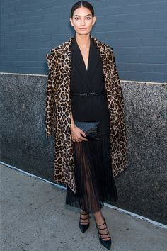 a23d906fb1 It s official  leopard print is on the sartorial prowl. See how to wear it