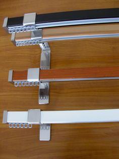 Modern stílusú rúdkarnis garnitúra, 1 és 2-soros kivitelben. Színek: bükk, cseresznye, wenge és fehér (új szín!). Teljes árlistánkat az Rk056 számú képen találja. Új szín a fehér.