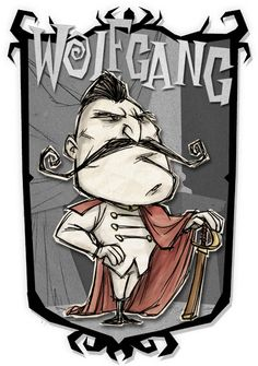 Wolfgang | Don't Starve Together Character Portraits