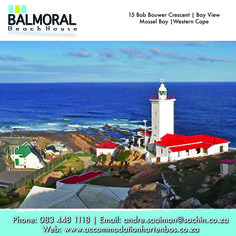 Cape St Blaize Lighthouse in Montagu Street, Mossel Bay, South Africa. You can walk up the the top to watch the very beautiful view of the sea and surroundings! I Bay, Lighthouse Keeper, Interesting Buildings, African Countries, Sea Level, Cn Tower, South Africa, Beach House, Around The Worlds