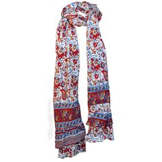 Indian Ruffle Scarf on Sale for $15.99 at HippieShop.com