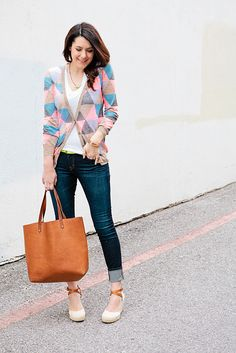 sweater, jeans, and shoes by kendilea, via Flickr