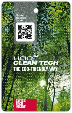 HeiQ Clean Tech – The Eco-Friendly Way Eco Friendly, Cleaning, Technology, Adventure, Flyers, Label, Future, Tech, Ruffles