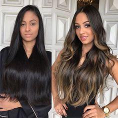 2020 Online Wigs For White Women Bobbi Boss Keeshana Steel – krlly Brown Hair Balayage, Hair Highlights, Brown Highlights, Bayalage, Biolage Hair, Curly Hair Styles, Natural Hair Styles, Brunette Hair, Hair Dos