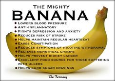 We never needed reasons to eat bananas, but here they are. Eat organic ones! http://tmiky.com/pinterest