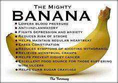 Bananas lower blood pressure