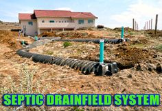 Septic Drain Field With 1000 Gal Holding Tank Cottage