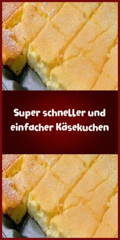 Super quick and easy cheesecake - ingredients 500 g fine curd cheese 450 g sau . - Super quick and easy cheesecake – ingredients 500 g fine curd cheese 450 g sour cream 100 g butte - Easy Cookie Recipes, Cake Recipes, Dessert Recipes, Super Rapido, Quick Vegetarian Meals, New Cake, Cheesecake Desserts, Food Cakes, Quiche