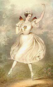 marie taglioni | Marie Taglioni as the Sylphide