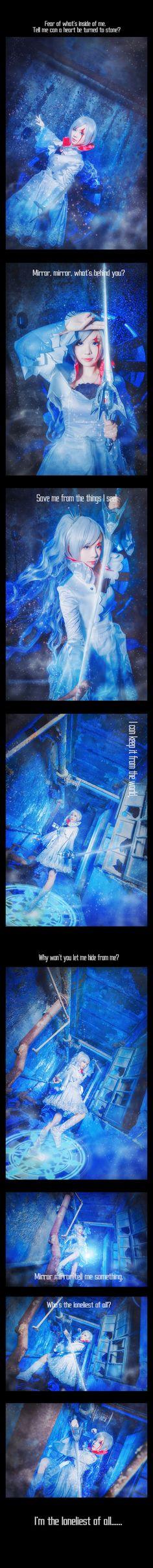红白黑黄 Weiss Schnee cosplay   半次元-第一中文COS绘画小说社区