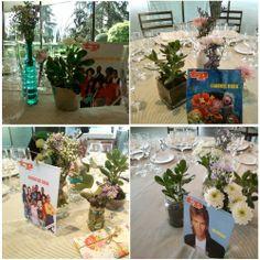 Blog de Organización de Bodas - Wedding Planner Madrid - Seating Plan Ochentero