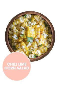 Corn is the ultimate summer side, but if you need a break from on the cob, make it into a zesty salad instead. Get the recipe from Lovely Little Kitchen. - ELLE.com