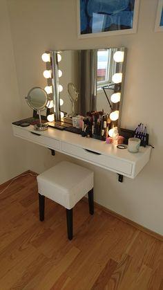 My vanity section!