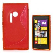 Capa Lumia 1020 - Sline Vermelha  R$18,25