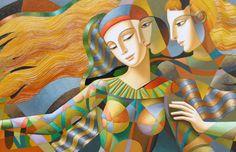 Artist: Oleg Zhivetin, Title: Circle Of Friends